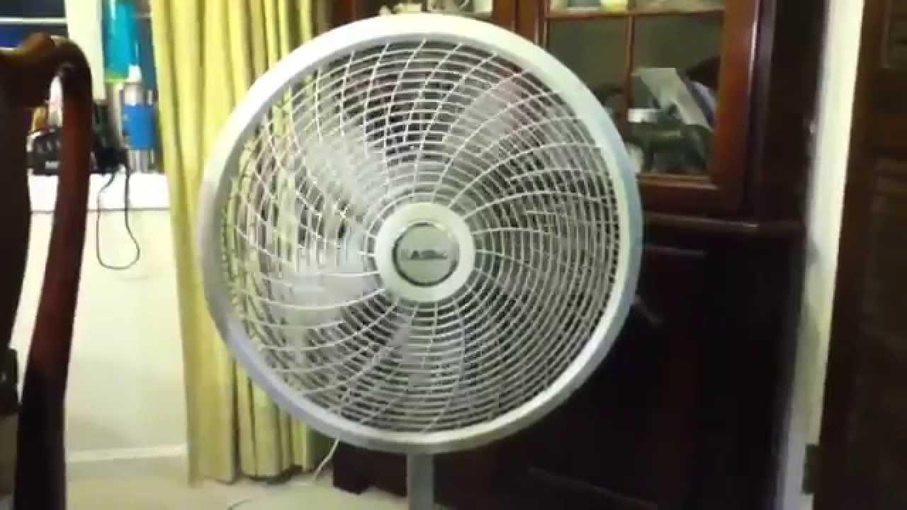 18 Lasko Cyclone Oscillating Stand Fan Model S18902 YouTube