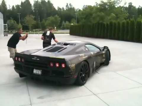 SSC ULTIMATE AERO goldRush unveiling