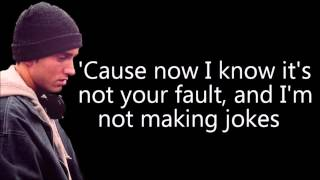 Eminem ft Nate Ruess - Headlights Lyrics