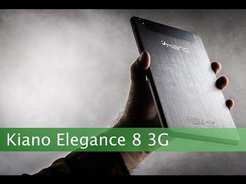 Wideo test i recenzja tabletu Kiano Elegance 8 3G   techManiaK.pl