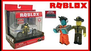 Roblox Toys, Police Patrol Car & Sheriff, Neighborhood of Robloxia, Unboxing & Toy Review