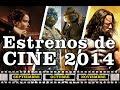 Estrenos de Cine Películas 2014 / Septiembre - Octubre - Noviembre (Incluye Trailers)