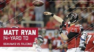 Matt Ryan Leads Epic 99-Yard Touchdown Drive!   Seahawks vs. Falcons   NFL Divisional Highlights