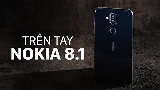 Trên tay Nokia 8.1