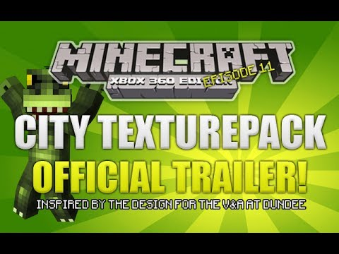 Minecraft Xbox 360: City Texturepack Official Trailer [Future Dundee Waterfront] klip izle