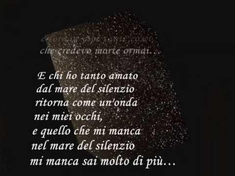Andrea Bocelli La Voce del Silenzio  lyrics