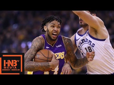 Los Angeles Lakers vs Golden State Warriors 1st Half Highlights / Week 10 / Dec 22
