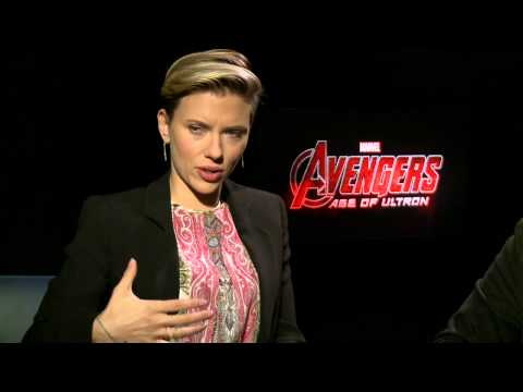 Marvel's Avengers: Age of Ultron: Scarlett Johansson & Mark Ruffalo Official Interview