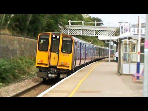 Trains at New Southgate