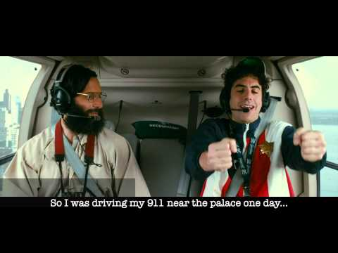 The Dictator - helicopter Scene Whit Text subtitles - Official [1080p Hd] video