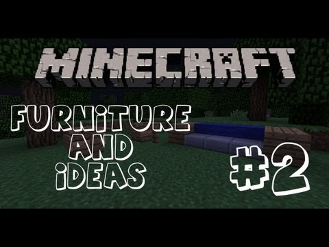 Minecraft Furniture: #2 How to make a Sofa