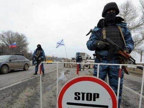 Pro-Russians Control Crimea - Waiting Orders from Russia