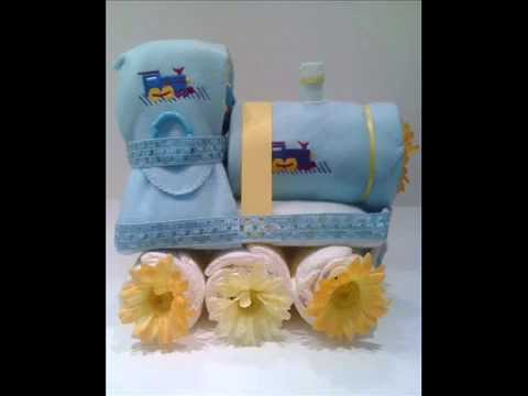 How to make unique and creative Diaper Cakes