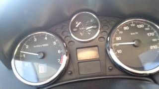 performans 0 a 100km/h ( Peugeot 207 1.6 VTi 120ch top speed ) peperiksaan