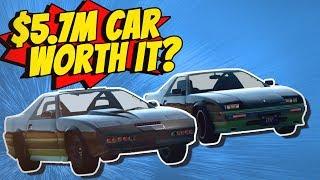 GTA 5 - $0 Car Vs. $5,745,600 Car
