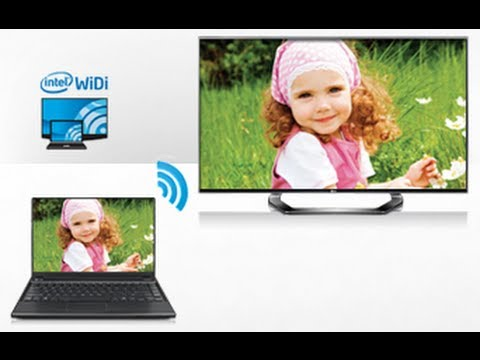 WiDi Function with LG Smart TV How to