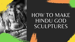 Video: How to make a Hindu God out of clay