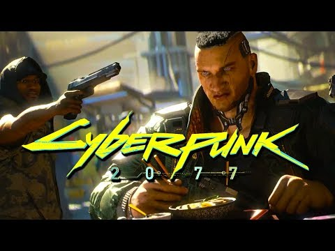 Cyberpunk 2077 - Official World Premiere Trailer | E3 2018
