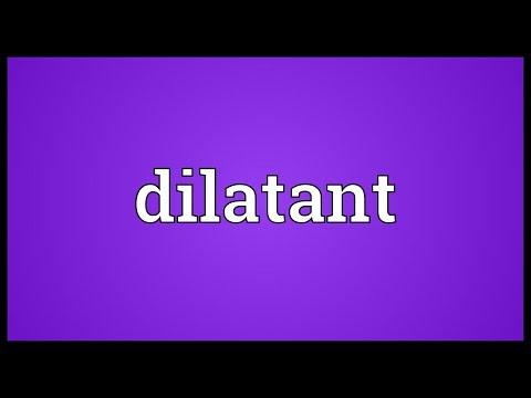 Header of dilatant
