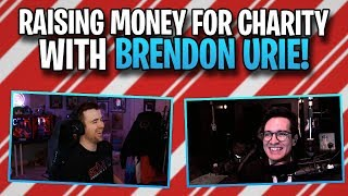 Raising money for charity with Brendon Urie!