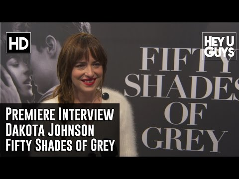Dakota Johnson Interview - Fifty Shades of Grey NY Premiere