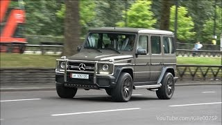 Mercedes G-Wagon´s lovely sounds 1080p