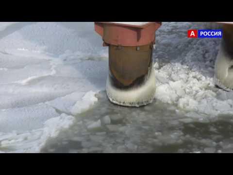 Лёд и Керческий мост сегодня Видео 2017