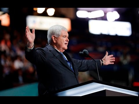 Watch Newt Gingrich's full speech at the Republian National Convention