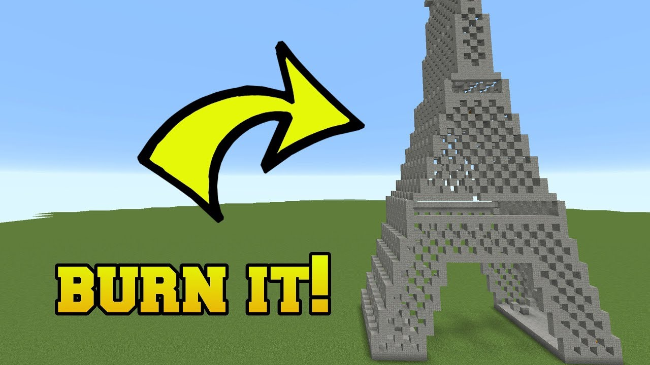 IS THAT THE EIFFEL TOWER?!? BURN IT!!!