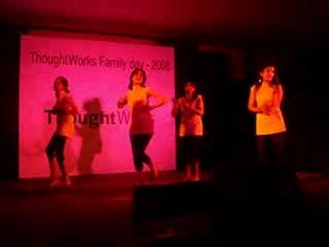 ThoughtWorks Family Day - dances- sona kitna sona hai