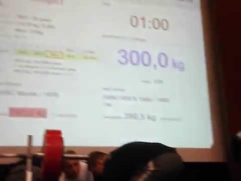 Grzegorz Wałga Bench Press EQ 300 kg | StudioOdżywek.pl |