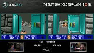 The Great Quakeholio Tournament 2018 - Round 4 - Wolfenstein 3D Score Attack