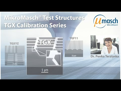 <h3>Product Screencast - Test Structures: TGX</h3> Presented by Dr. Penka Terziyska <br />Product Manager
