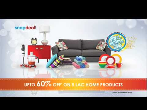Snapdeal Diwali Bumper Sale  Lavanya Tripathi Extra Savings - YouTube