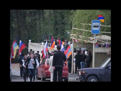 Фото факельное шествие.Сочи .Лазаревское. 2010г.mp4
