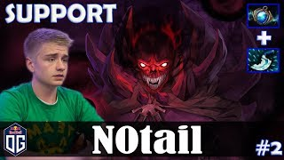 N0tail - Shadow Demon Safelane | SUPPORT | Dota 2 Pro MMR Gameplay #2