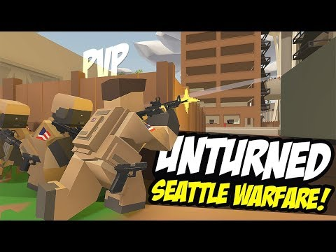 SEATTLE IS UNDER ATTACK - Unturned Military Roleplay (PVP) thumbnail