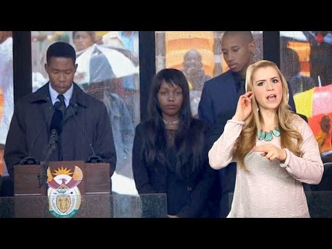 Mandela Funeral Interpreter a FAKE!!!