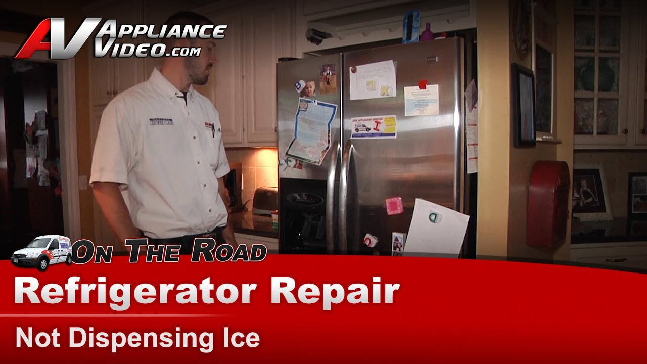 Refrigerator Repair Not Dispensing Ice Through The Door