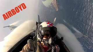 F/A-18 Super Hornet High Speed Maneuvers (CVN-65)