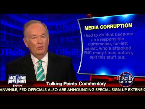 Bill O'Reilly rebuts Mother Jones report on his war reporting
