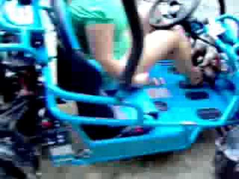 how to make a 110cc go kart faster