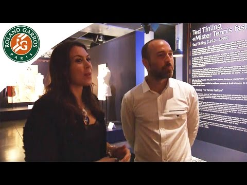 Game set and fashion exhibition with Marion Bartoli - 2015 French Open