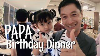Happy Birthday Papanya Captain Vincent - Orang Yang Membesarkan Capt Vincent Sendiri Dari Kecil