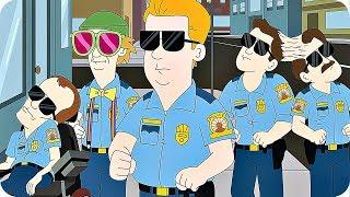 PARADISE PD Trailer Season 1 (2018) Netflix Animation Series