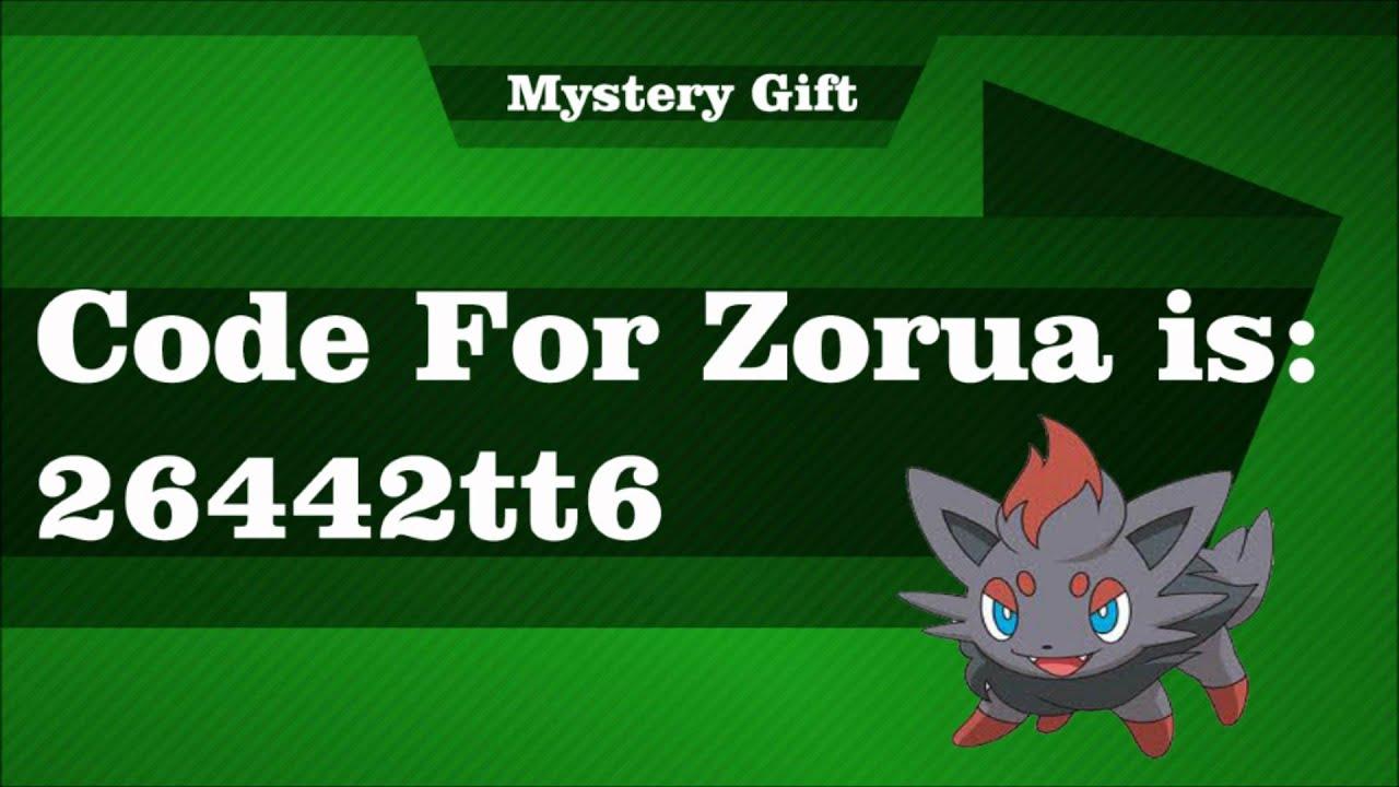 Pokemon Tower Defense 2 Mystery Gift Code For Zorua Ptd
