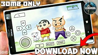 [30MB] Shinchan Unreleased Game | Open World Best Graphics | On Android