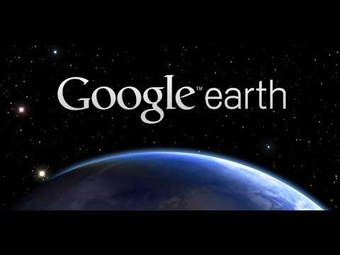 Google Earth - Symbolique étrange? Coordonnées lisibles - HD