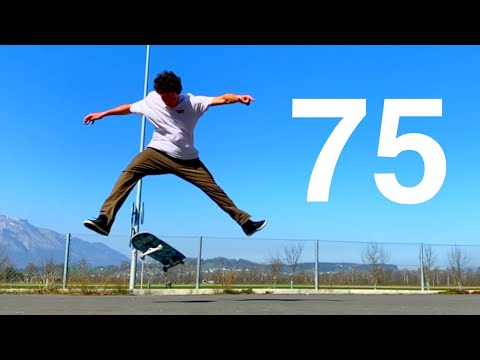 75 FLATGROUND TRICKS YOU HAVE TO SEE!