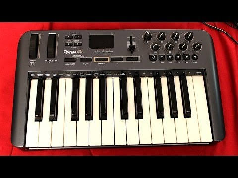 M-Audio Oxygen 25 (49/61) MIDI Keyboard Controller Review